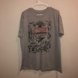 Funko Marvel Villains thanks Shirt Gray